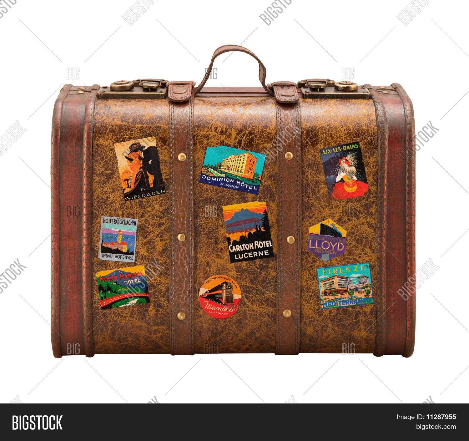 vintage suitcase stickers the image kid has it. Black Bedroom Furniture Sets. Home Design Ideas