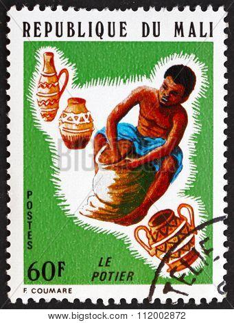 Postage Stamp Mali 1974 Potter