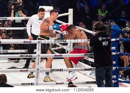 Fight For The Wbo Intercontinental Title Oleksandr Usyk Vs Pedro Rodriguez