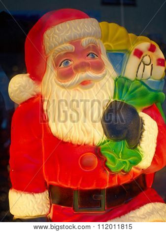 Illuminated Doll Of Santa Claus