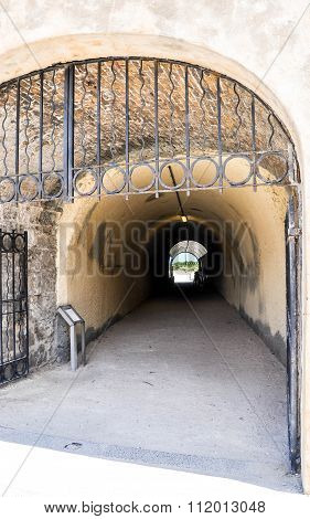 Gated Whaler's Tunnel: Fremantle, Western Australia