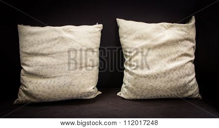 Modern Interior Decorated Vintage Pillow