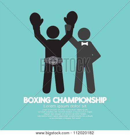 Black Symbol Boxing Championship.