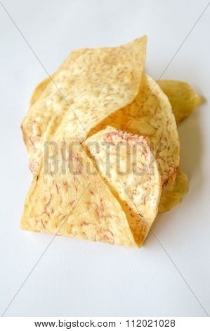 Cassava fried slice