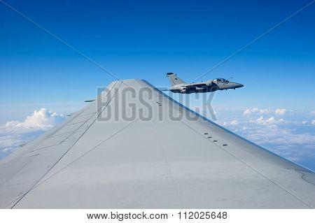 Air To Air Amx Am-x Jet Close Up