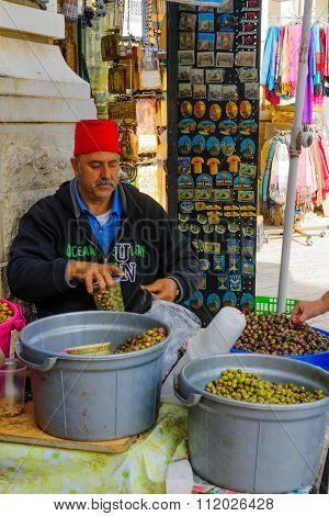 Market Scene, Nazareth