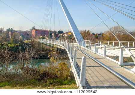Footbridge In Casalecchio Di Reno - Bologna