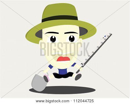 the happy fishing