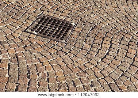 Cobblestone Pavement Pattern