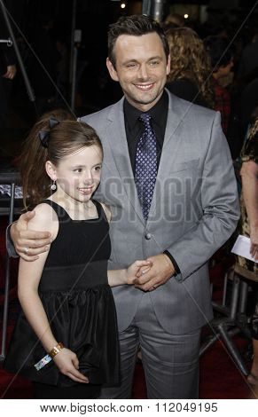 WESTWOOD, CALIFORNIA - November 16, 2009. Michael Sheen at the Los Angeles premiere of
