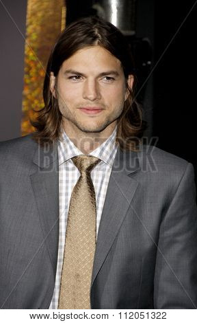 Ashton Kutcher at the Los Angeles Premiere of