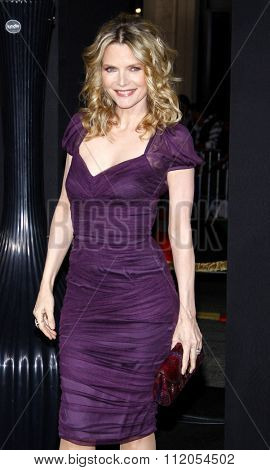 HOLLYWOOD, CALIFORNIA - December 5, 2011. Michelle Pfeiffer at the Los Angeles premiere of