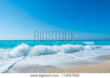 Amazing beach in Greece
