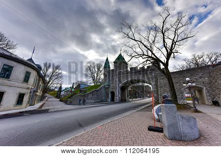 Saint Louis Gate - Quebec, Canada