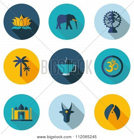 Indian Icons In Vector Format