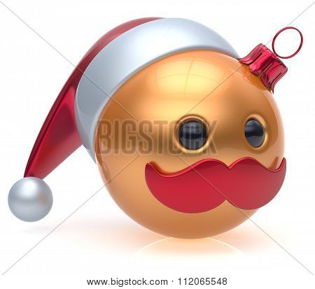 Christmas Ball Emoticon New Year's Eve Bauble Santa Avatar