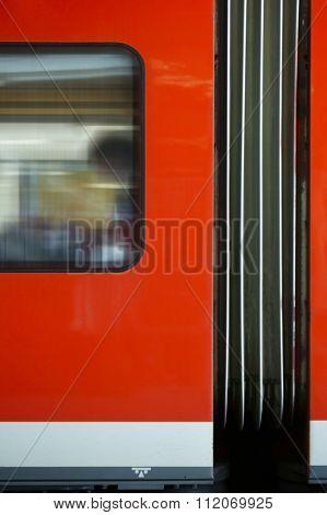 Train outside body
