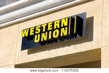 Western Union Sign And Logo