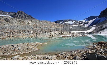 Tranquil Mountain Landscape In Garibaldi Provincial Park.