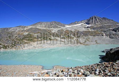 Wedgemount Lake In Garibaldi Provincial Park, Bc, Canada.