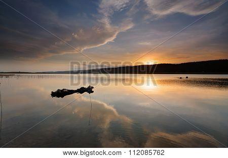 Lake Burralow Sunset