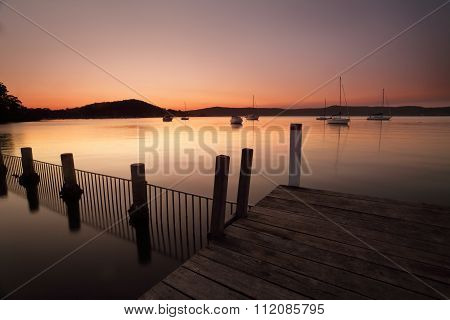 Sundown At Yattalunga Australiia