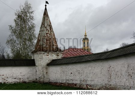 The wall of the cloister Alexandrovskiy