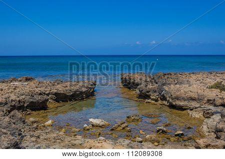Mediterranean Sea Coastline, Protaras, Cyprus
