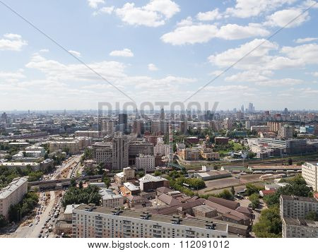 View Of Moscow From The Top