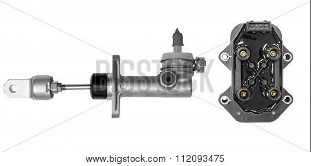 Cylinder clutch and ignition unit