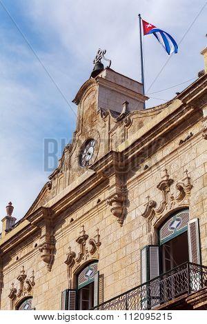 Palacio De Los Capitanes, Havana