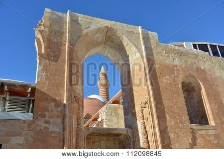 Ancient Ishak Pasha Palace -  Fragment