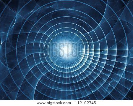 Propagation Of Spiral Pattern