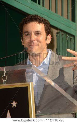 LOS ANGELES - DEC 8:  Fred Savage at the Rob Lowe Star on the Hollywood Walk of Fame at the Hollywood Blvd on December 8, 2015 in Los Angeles, CA