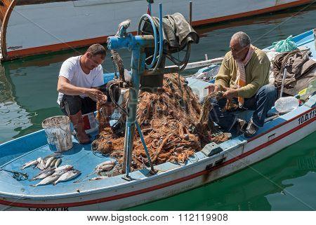 Fishermen in Turkey