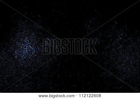 Aqua blue glitter texture vector.