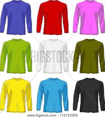 Man long sleeved t-shirt