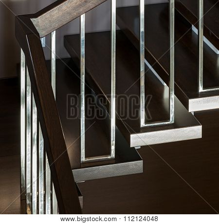 Staircase In Modern Interior