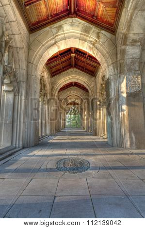 George Washington Memorial Chapel - Gothic Chapel Hallway