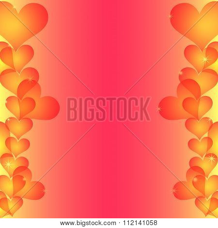 Bright Valentine Day Framing