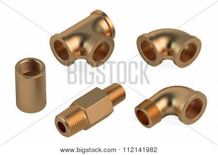 Copper Fittings For Plumbing Pipes