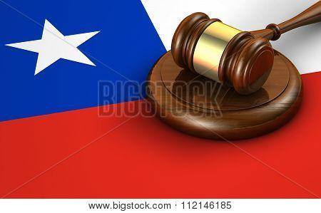 Chile Law And Legislation Concept