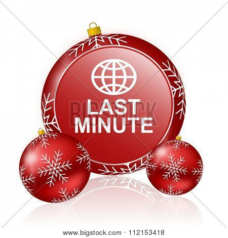 last minute christmas icon