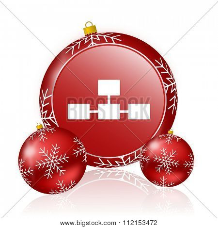 database christmas icon