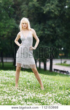 Blond Full Length Girl