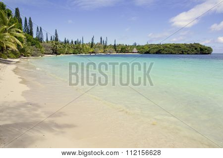 Beach At Kuto, Ile Des Pins, New Caledonia