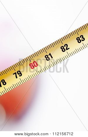 Measuring Tape Ruler Cm Numbers 80