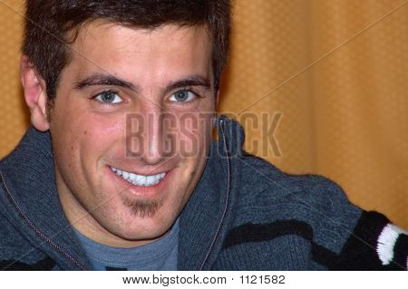 Young Smiling Man