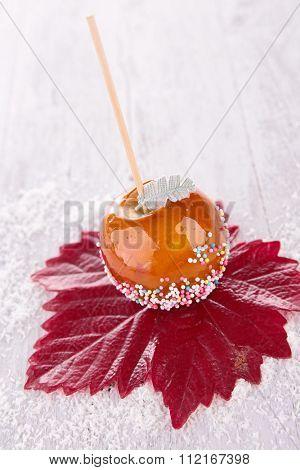 caramel apple