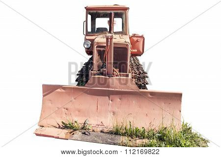 Old Crawler Tractor